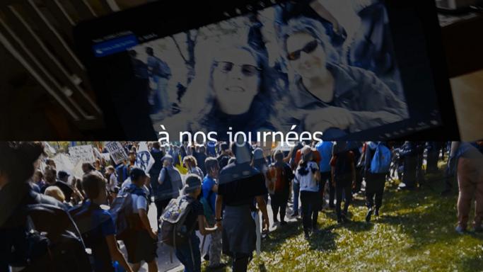 Film À nos journées de Sylvie Chenard avec la collaboration de Maryse Poulin, 2019